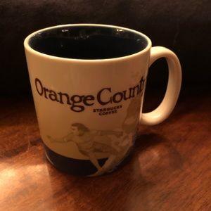 Starbucks collector series Orange County
